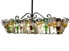 40 Bottle Pool Table Light 