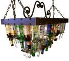 2 Tier Chandelier - 36 bottles 