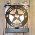 Three Bottle Custom Sconce