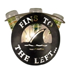 Fins to the left bar sconce.