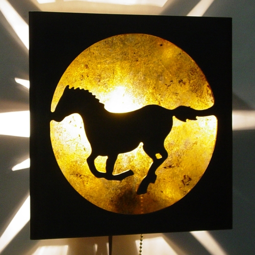 Mustang Sconce