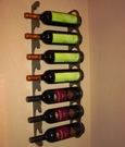 Two Piece Label Rack (holds 7 bottles)