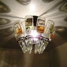 Beer Bottle Light Pendant