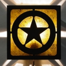 Texas Star Media Room Sconce